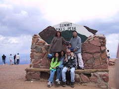 Pikes Peak with A.J.
