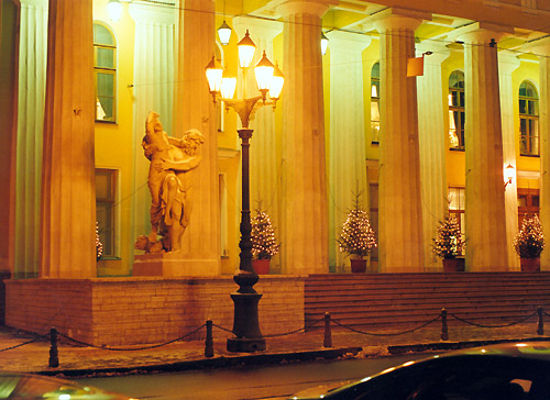 Здание Горного института