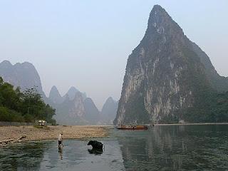 riviere Lijiang en Chine