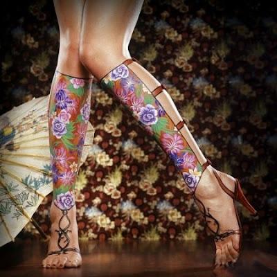 jambe chinoise
