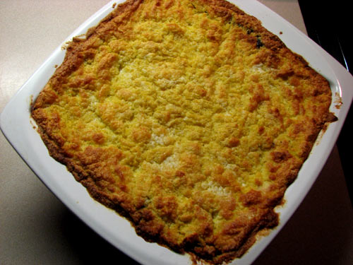 Cooking with Lucy: Pastel de Choclo: Corn Casserole