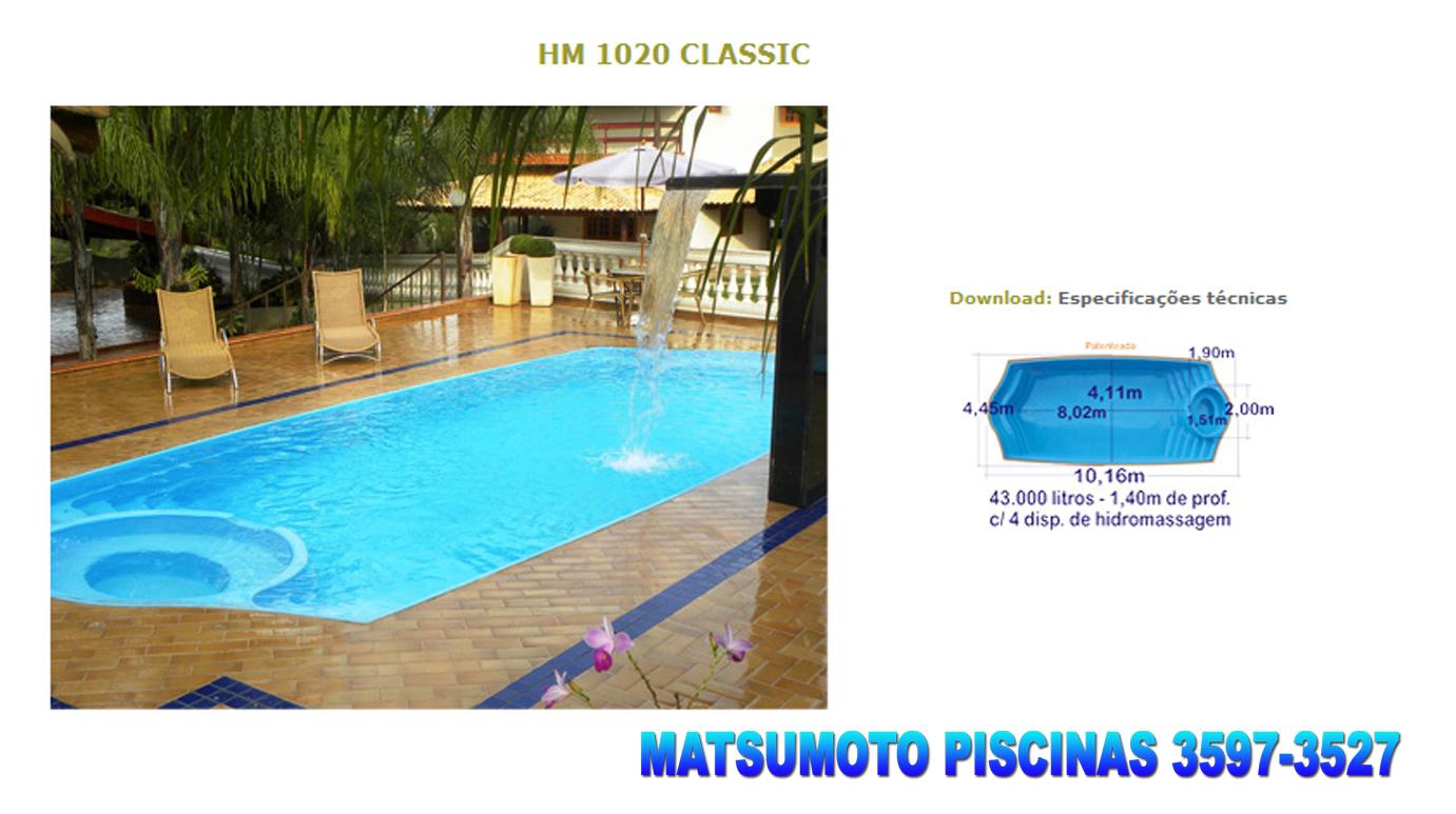 Matsumoto piscinas cat logo de piscinas as mais vendidas - Catalogo de piscinas ...