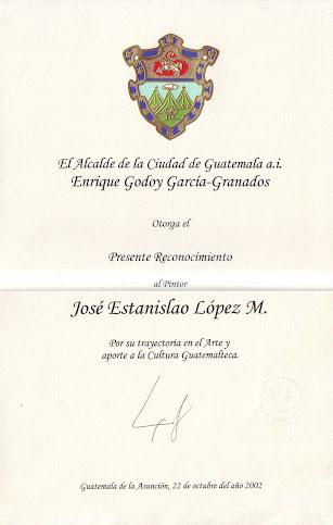 Reconocimiento Municipalidad de Guatemala