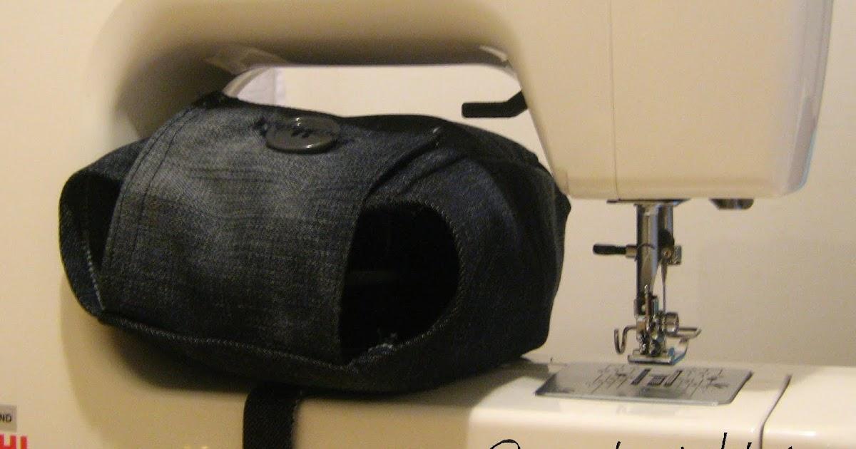 Creativita vita creativa cucito il mio primo for Porta bobina macchina da cucire