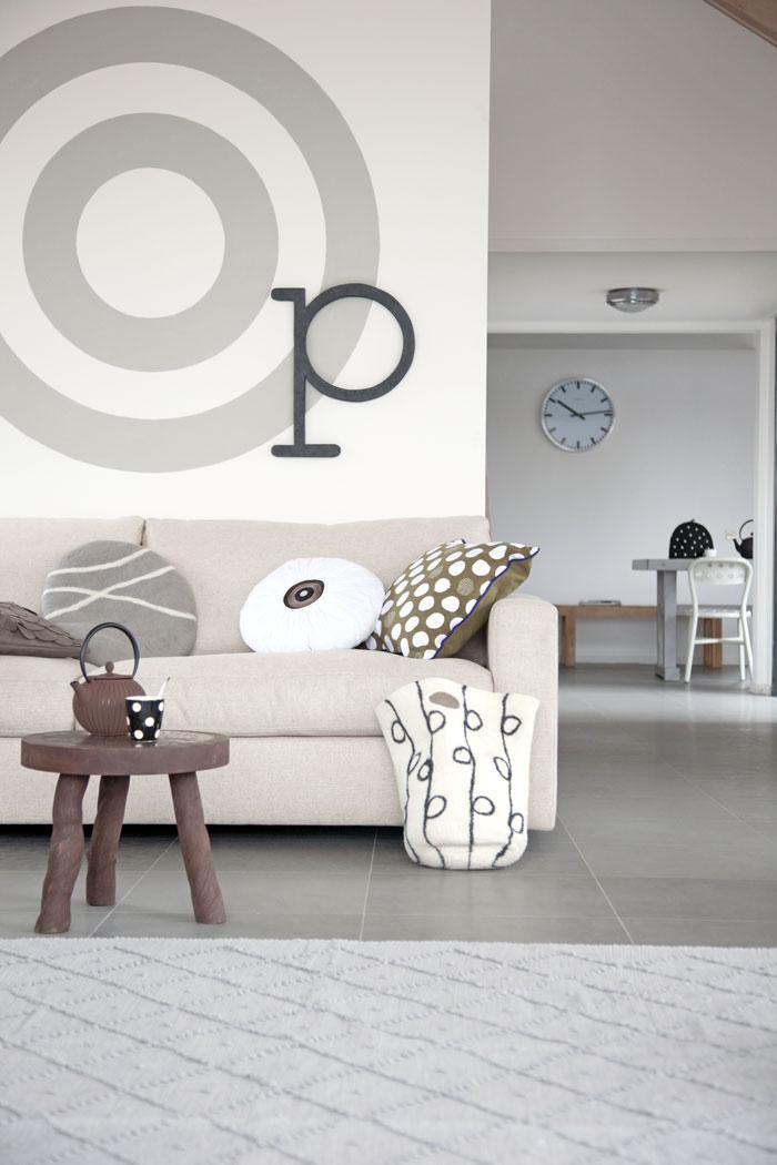 Decoratie tip cirkel op je muur villa d 39 esta interieur en wonen - Decoratie van de villas ...
