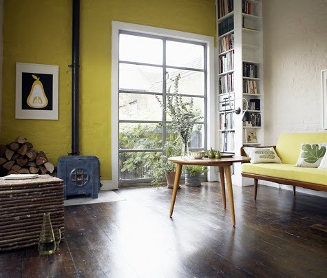 Dining Rooms, Wall Colors, Idea, Yellow Rooms, Yellow Wall, Yellow ...