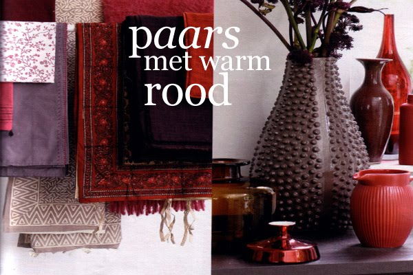 Warm kruidig rood in je huis