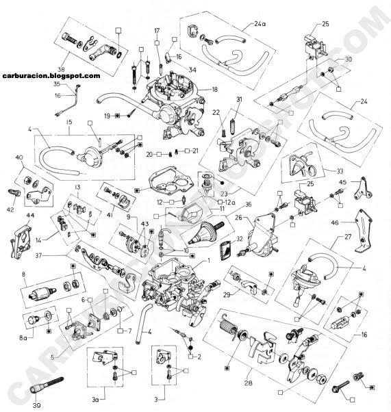 Diagrama De Carburador Solex 36 Eies furthermore Carburador7 together with Showthread also Vacuum Diagram Toyota Tercel 2e 13cc Carburado as well Despiece Carburador Brosol 2e7 Y 3e. on carburador motor 2e