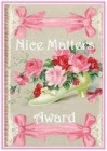 Nice Matters Award awarded by Julia