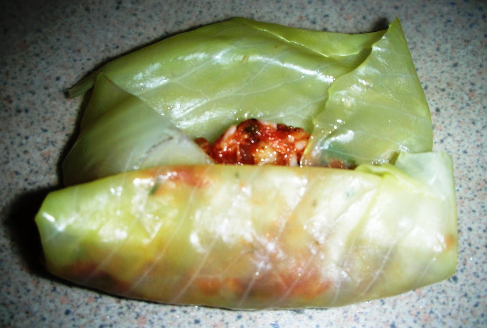 Cabbage Leaves Stuffed with Ground Meat and Rice - Lahana Sarmasi ...