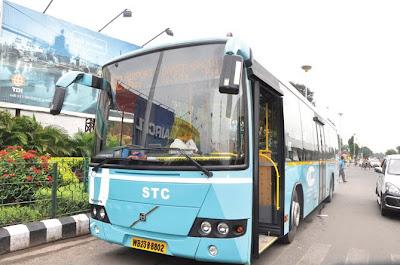 Kolkata Bus route volvo jnnurm