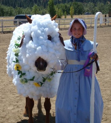 What is your horse going to be for Halloween?