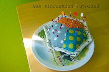Hexagon Pincushion Tutorial