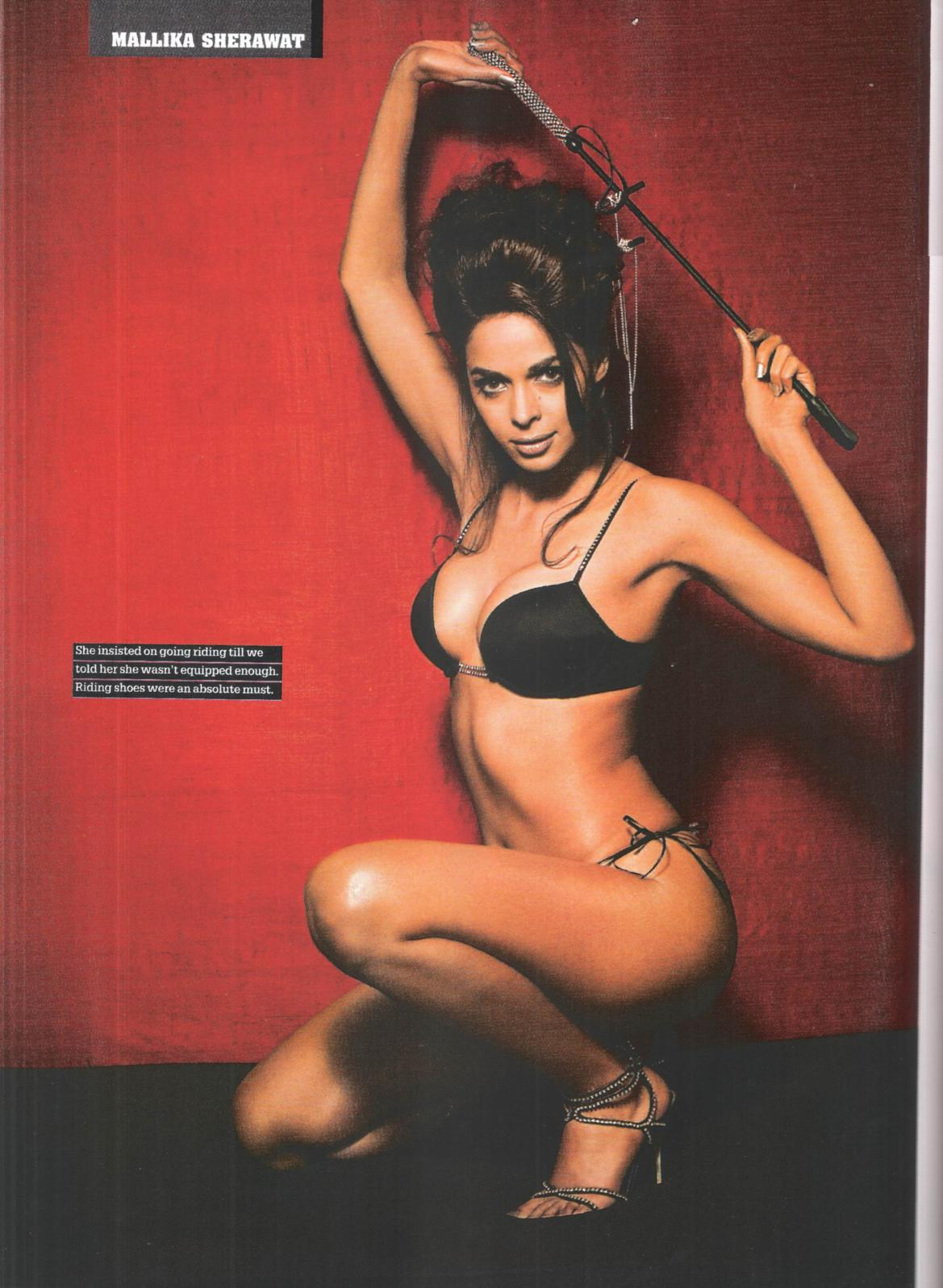 Mallika sherawat bikini pics in maxim with you