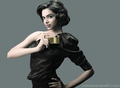 Deepika Padukone endorse sony camera