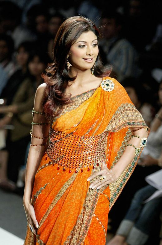 shilpa shetty in saree. [shilpa+shetty+saree+