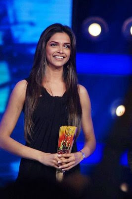 Deepika padukone in Black Dress99