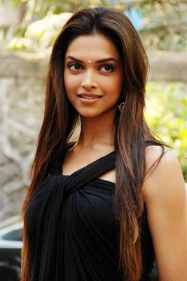 Deepika padukone in Black Dress88