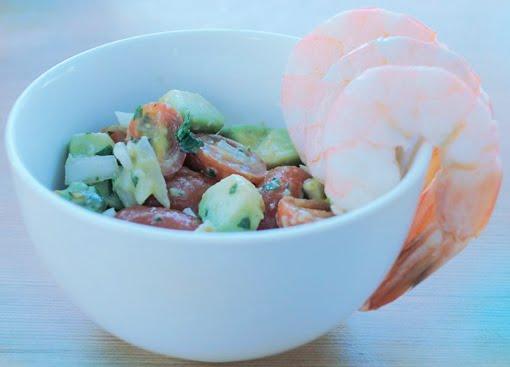Salada pronta!