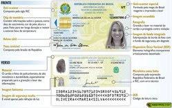 nova carteira identidade