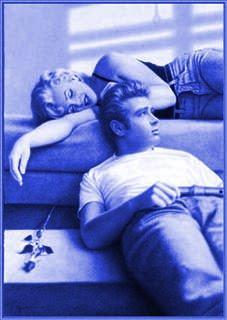 James Dean e Marilyn