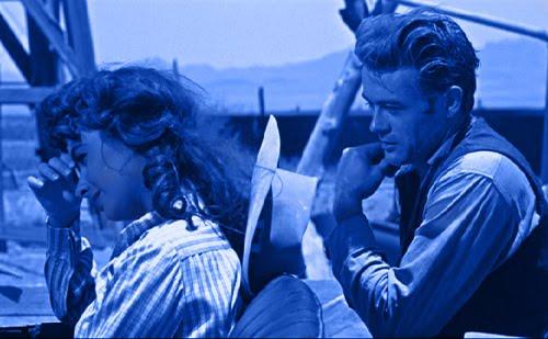 James Dean e Elisabeth Taylor