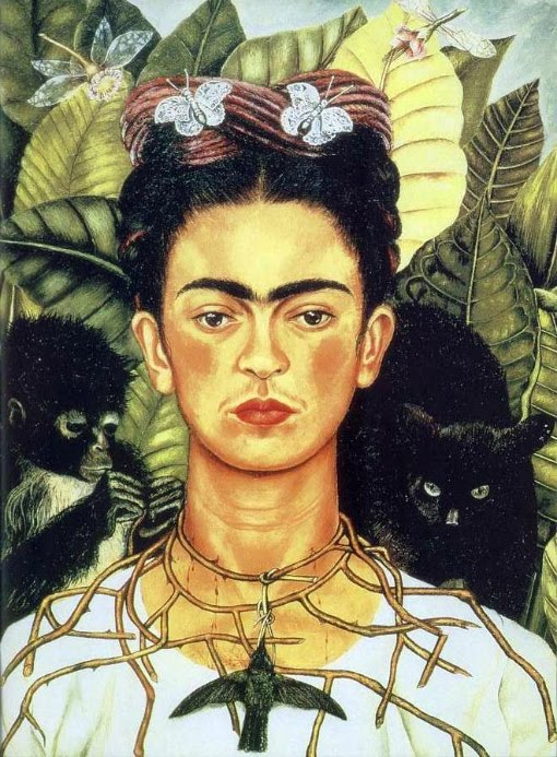 Frida, auto-retrato