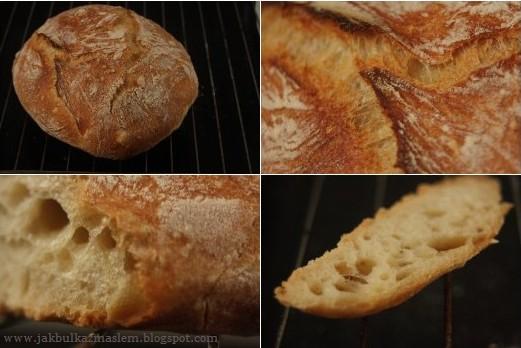 Chleb metodą Jima Lahey'a
