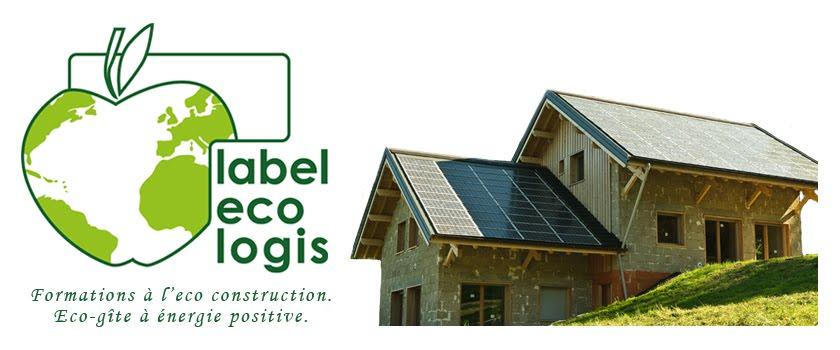 Label eco logis, formations et gîte.