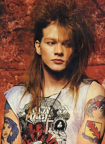 fotos de axl rose-t!