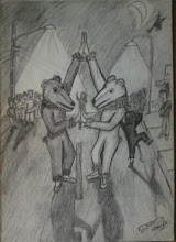 Urso Branco e Urso preto