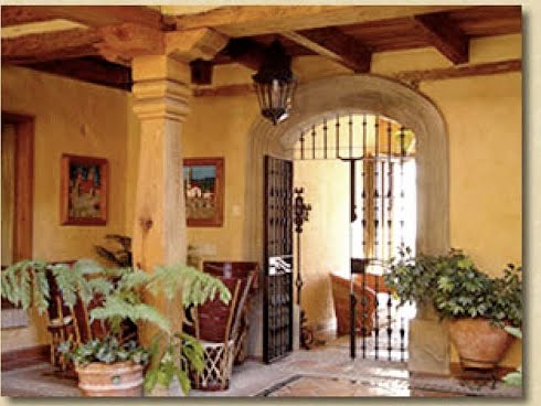 Mexican Hacienda Plans Houses Plans Designs