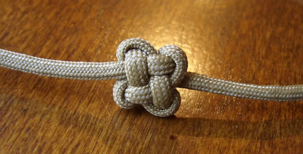 Stormdrane's Blog: Chinese Cloverleaf Knot