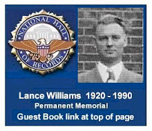 Guest Book  -  Lance Williams