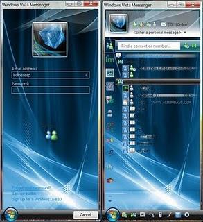 windows Live Messenger and Facebook