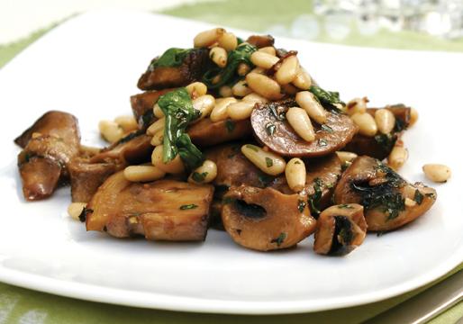 STAR Fine Foods: Warm Mushroom Salad