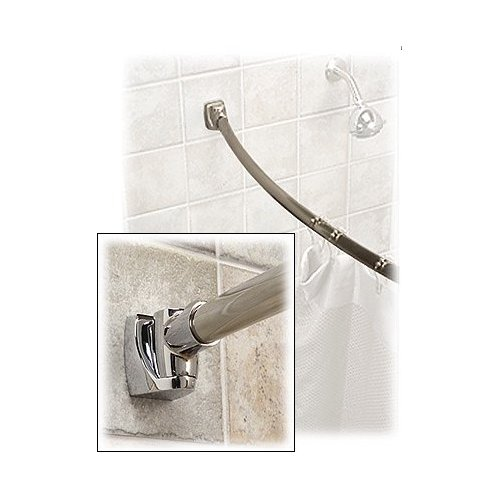Best Curved Shower Rod, So Far | Confessions Of A Tile Setter