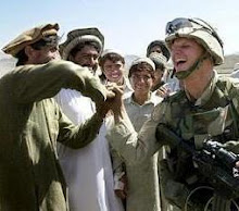 Alan Premel in Afghanistan  with the Northern Alliance