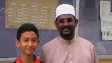 Ketua kita la..En. Amin & Ustz Ravi