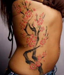 feminine tattoos gallery sexy japanese tattoos with image japanese cherry blossom tattoo. Black Bedroom Furniture Sets. Home Design Ideas