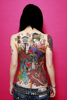 Nice Japanese Tattoos Especially Japanese Geisha Tattoo Designs With Image Japanese Geisha Back Piece Tattoo For Women Tattoos Picture 5