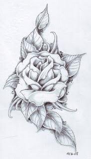 Tattoo Designs, Flower Tattoo, Rose Tattoo, Hawaiian Flower Tattoo