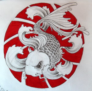 Amazing Art of Japanese Tattoos Especially Koi Fish Tattoo With Image Japanese Koi Fish Tattoo Designs Gallery Picture 1