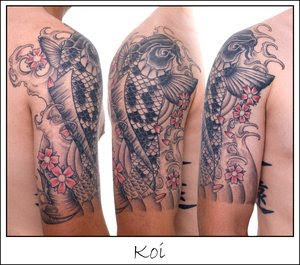 Japanese Tattoos Style Especially Koi Fish Tattoo With Image Japanese Koi Fish Tattoo Designs For Male Shoulder Tattoo Gallery Picture 4