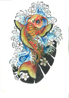 Amazing Japanese Tattoos Especially Koi Fish Tattoo With Image Japanese Koi Fish Tattoo Designs Gallery Picture  4