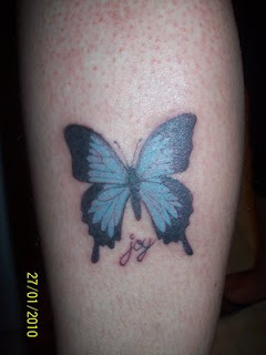 Nice Arm Butterfly Tattoo Designs44