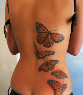Nice Back Body Tattoo Ideas With Butterfly Tattoo Designs With Image Back Body Butterfly Tattoos For Female Tattoo Gallery 2