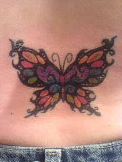 Nice Lower Back Tattoo Ideas With Butterfly Tattoo Designs With Image Lower Back Butterfly Tattoos For Female Tattoo Gallery 6