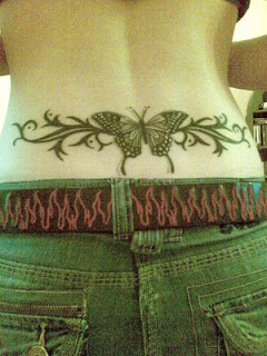Nice Lower Back Tattoo Ideas With Butterfly Tattoo Designs With Image Lower Back Butterfly Tattoos For Female Tattoo Gallery 5