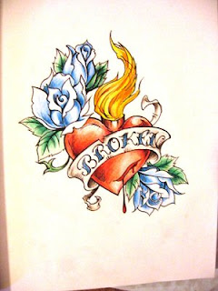 Heart Tattoos With Image Heart Tattoo Designs Especially Broken Heart Tattoos Picture 8